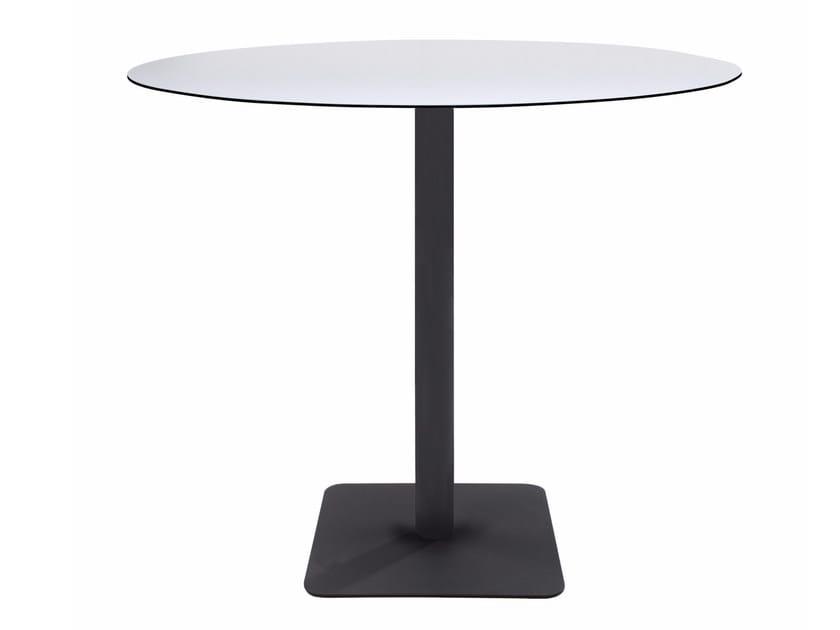 Metal table base LOTUS SQUARE by Papatya
