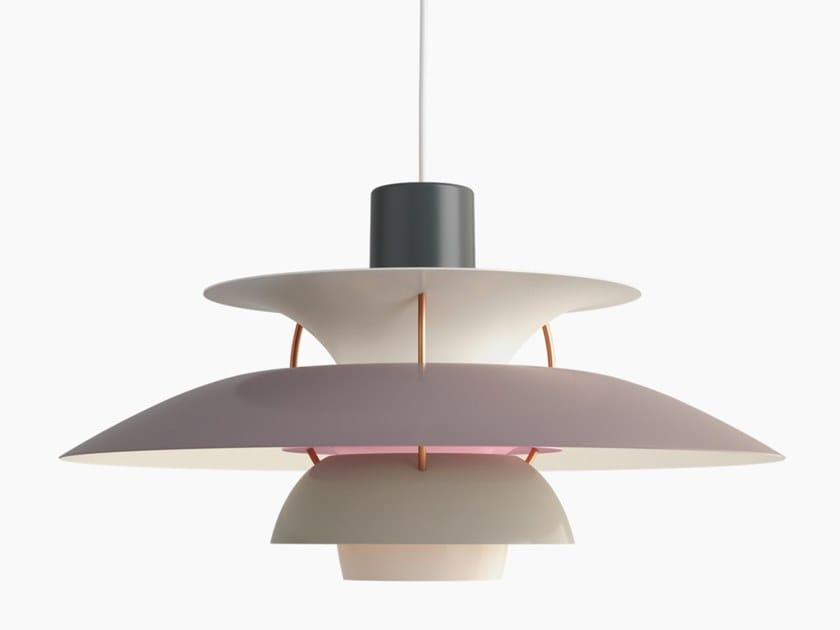 Lampada a sospensione a luce indiretta in metallo LOUIS POULSEN - PH 5 SFUMATURE GRIGIO by In Stock