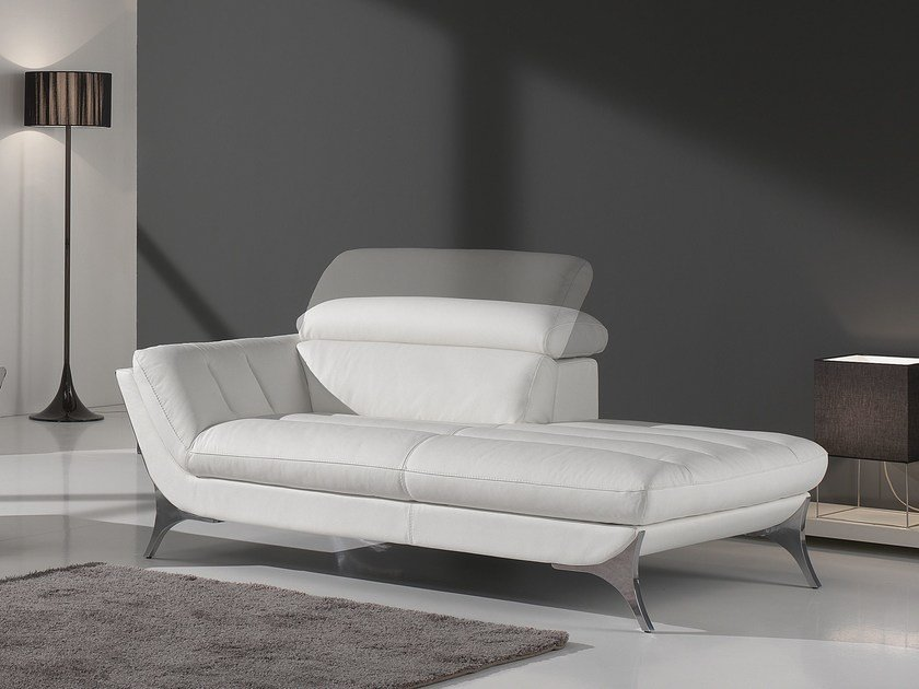 Leather day bed SUELI | Day bed by Egoitaliano
