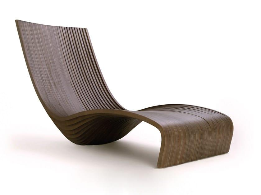 Banak wood lounge chair FEELING | Lounge chair by CFOC
