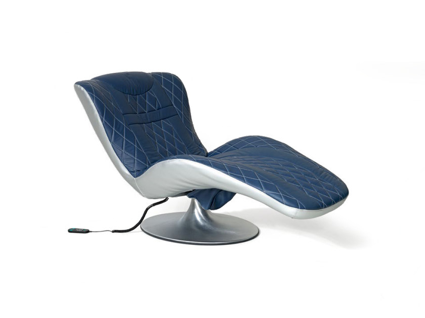 Upholstered leather lounge chair PERFORMANCE | Lounge chair by Tonino Lamborghini Casa