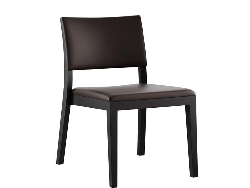 Sedia in legno in stile moderno LOUNGE | Sedia by horgenglarus