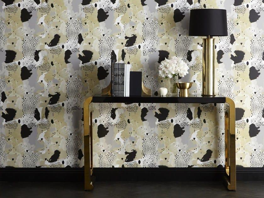 Animalier nonwoven wallpaper LOVE LEOPARD | Wallpaper by 17 patterns