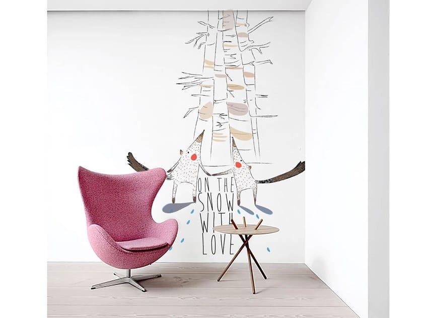 Wall tiles / wallpaper LOVE by Officinarkitettura®