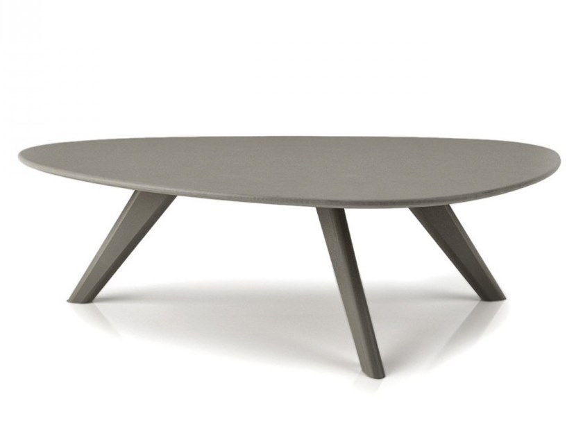 Lacquered birch coffee table STUDIO | Low coffee table by Huppé
