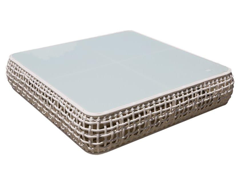 Tavolino basso da giardino per contract DYNASTY 22380 by SKYLINE design
