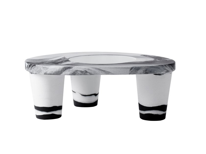Polyethylene coffee table LOW LITA ANNIVERSARY | Coffee table by SLIDE