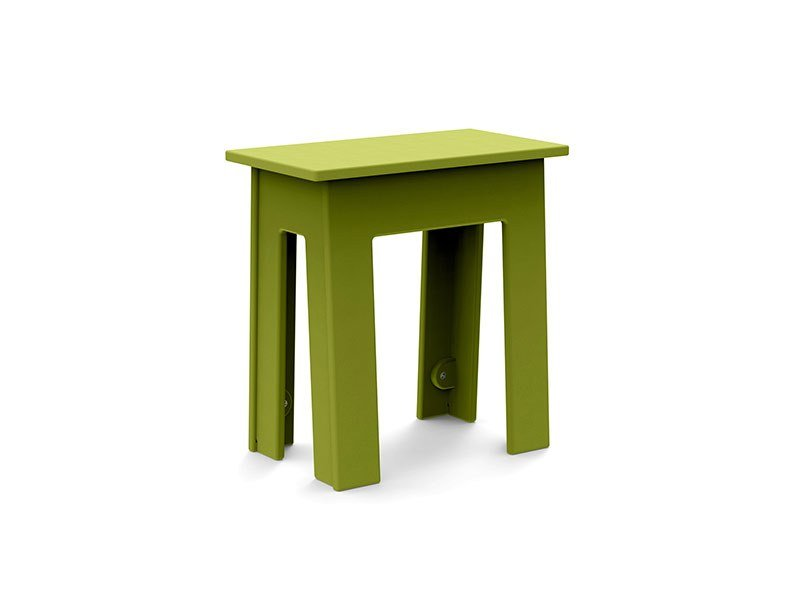 Low Recycled Plastic Garden Stool FRESH AIR | Low Stool By Loll Designs