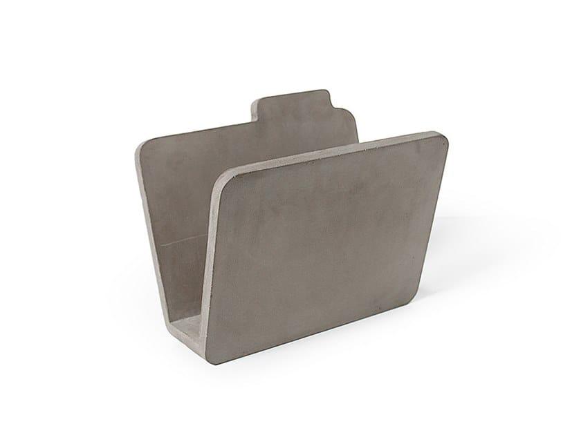 Portariviste in calcestruzzo fibrorinforzato LOW TECH | Portariviste by lyon béton
