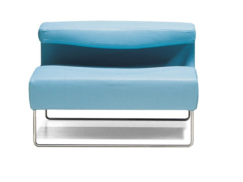 Sled base armchair LOWSEAT | Armchair by Moroso