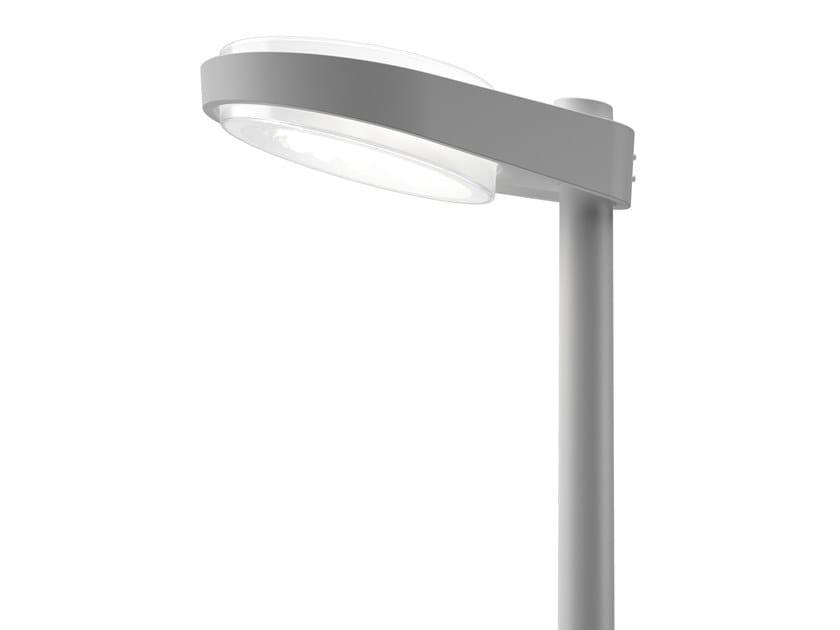 Lampione stradale a LED in alluminio pressofuso LP CAPSULE by Louis Poulsen