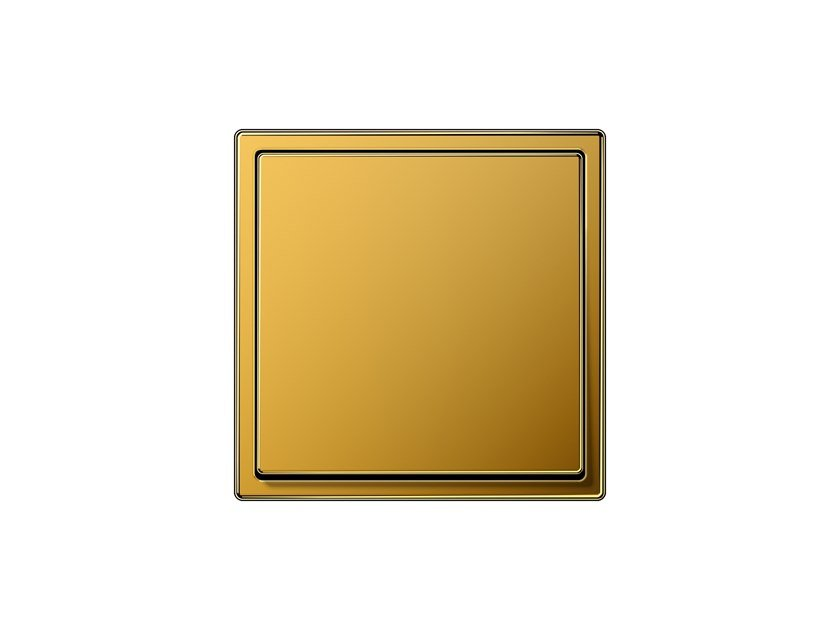 Wiring accessories with gold plating LS 990   Gold leaf wiring accessories by JUNG