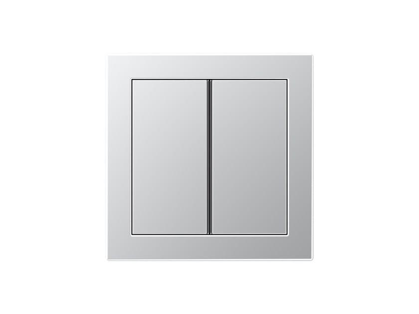 Aluminium push-button sensor LS DESIGN | Electrical socket by JUNG