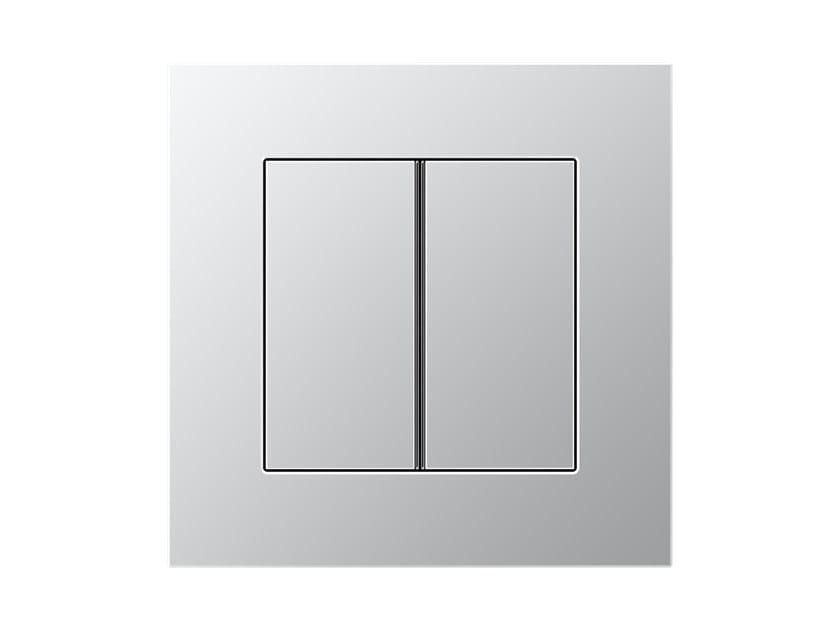 Aluminium push-button sensor LS PLUS | Electrical socket by JUNG