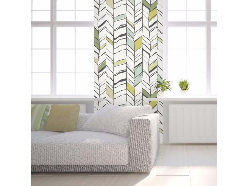Washable non-woven paper wallpaper strip LU-CHEVRIUM by LGD01