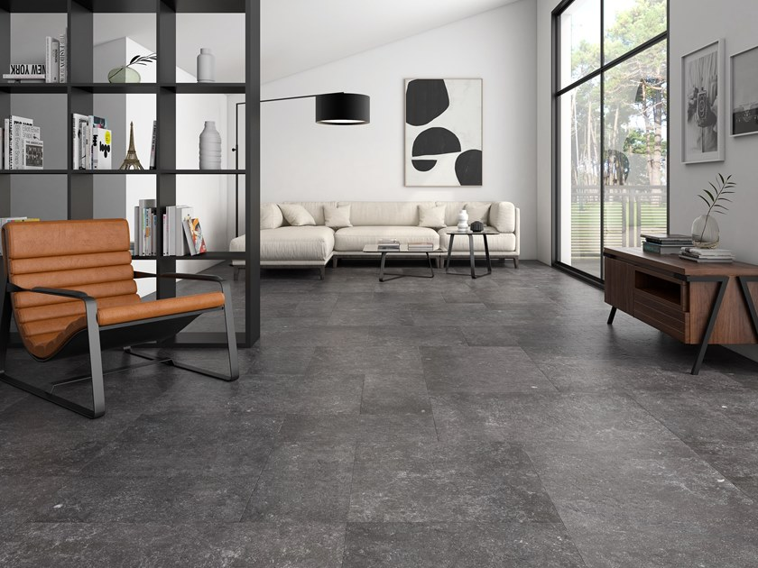 Porcelain wall/floor tiles with stone effect LUCCA by ITT Ceramic