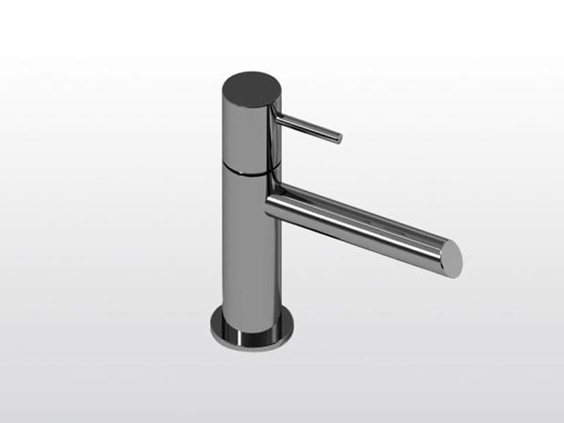 Chrome-plated single handle washbasin mixer LUCILLA | 3222P by RUBINETTERIE STELLA