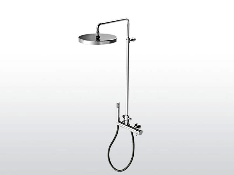 Shower panel with hand shower LUCILLA | 3283TB/306 by RUBINETTERIE STELLA