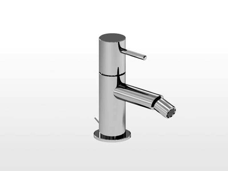 Chrome-plated single handle bidet mixer LUCILLA   3604 by RUBINETTERIE STELLA