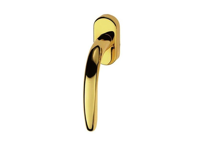 DK brass window handle LUCY EASY | DK window handle by Pasini