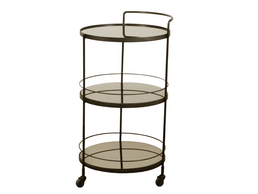 Glass drinks trolley LUCY by Notre Monde