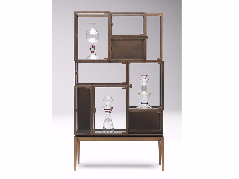 Display cabinet LUDOBOX by Paolo Castelli