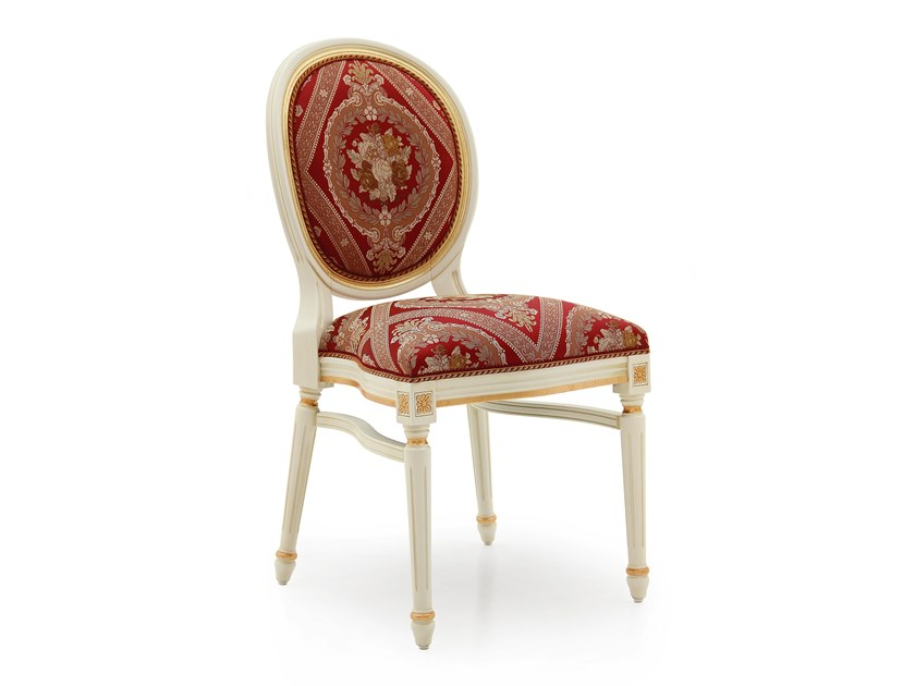 Sedia impilabile in legno massello LUIGI CHAIR 0253S by Sevensedie
