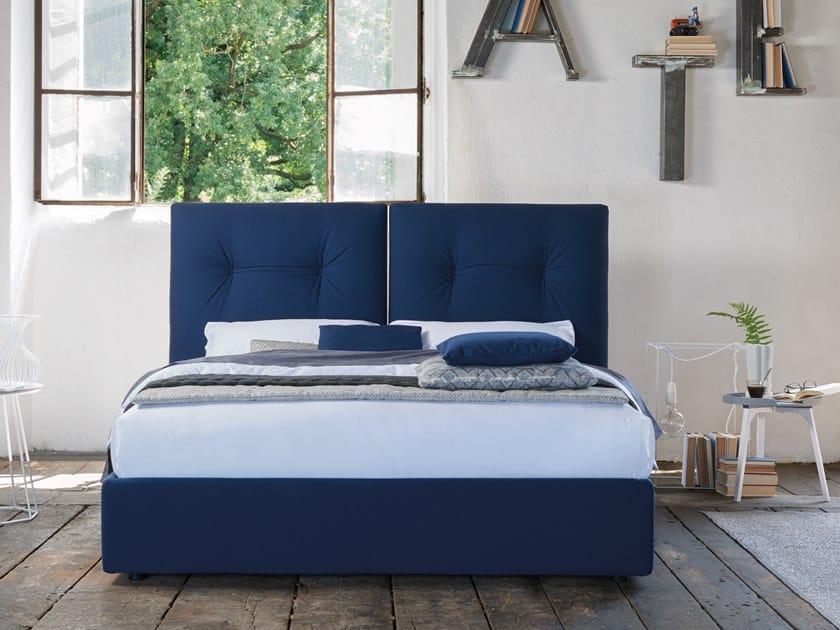Upholstered double bed LUKE by Dorelan