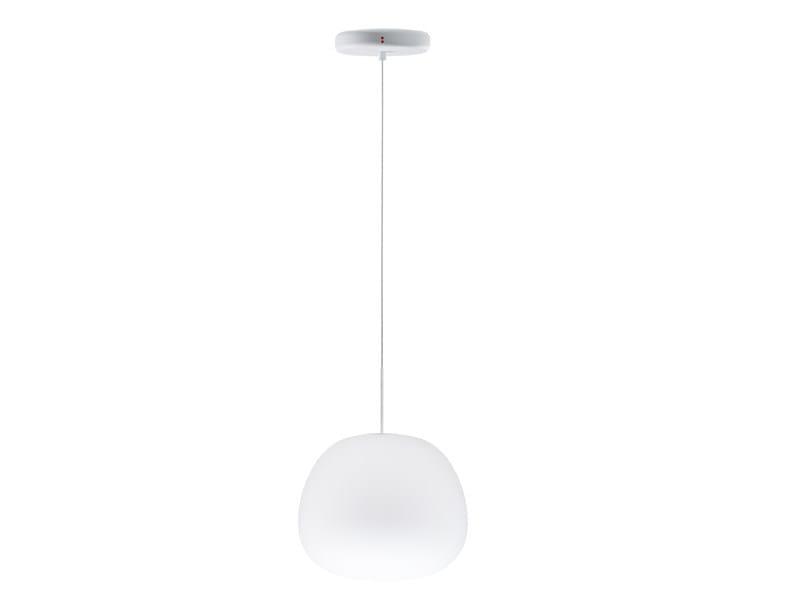Blown glass pendant lamp LUMI MOCHI | Blown glass pendant lamp by Fabbian