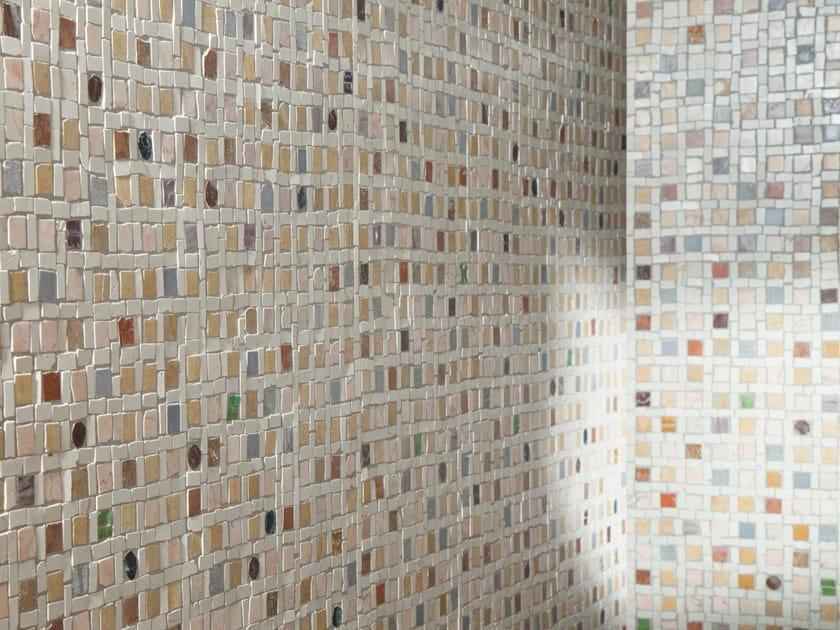 Marble mosaic LUMINA by Palazzo Morelli