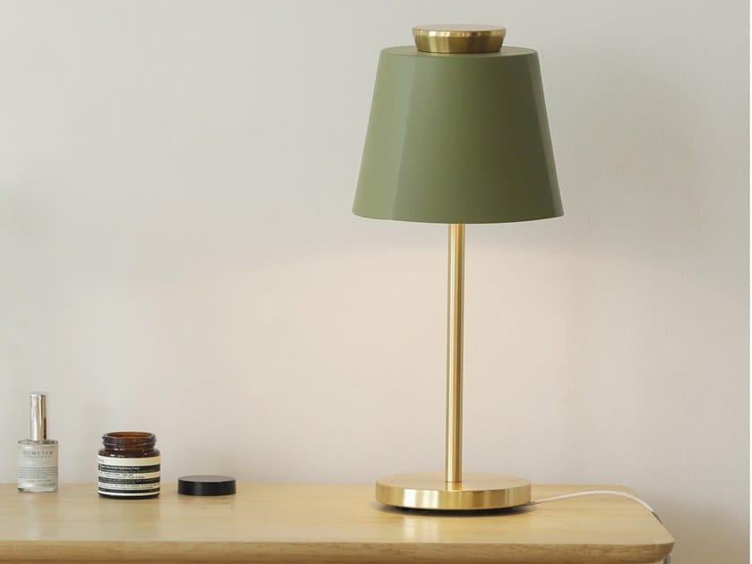 Lampada da tavolo a LED in acciaio LUMIR 4E by LUMIR