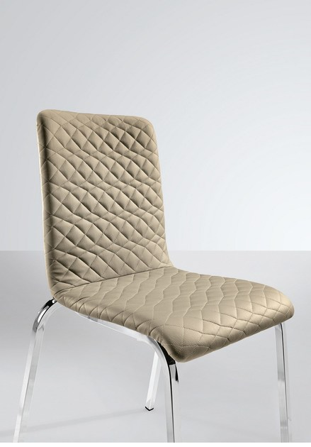 Stackable chair LUNA 103 | Upholstered chair by Metalmobil