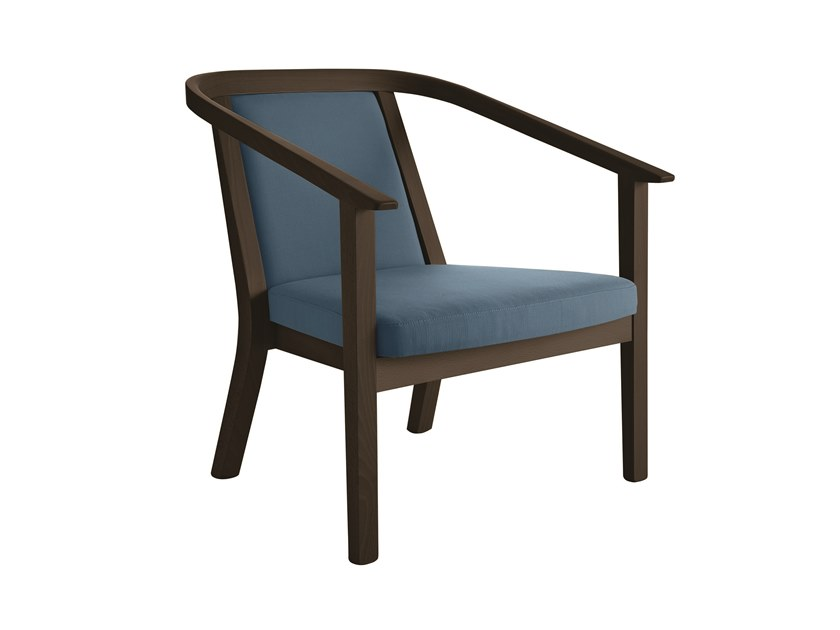 Armchair with armrests LUNA | Armchair by Sedex