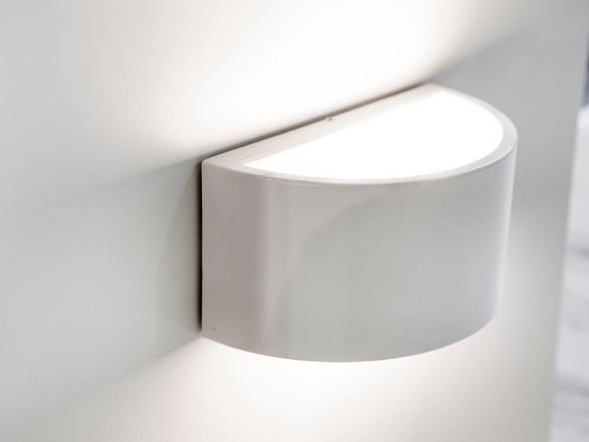 Lampada a LED in alluminio verniciato LUNA by BLOSS
