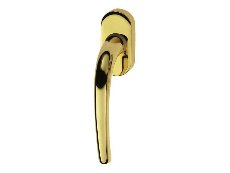 DK brass window handle LUNA EASY | DK window handle by Pasini