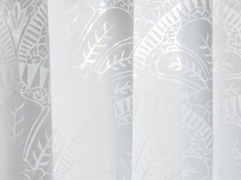 Polyester fabric for curtains LUNA by Equipo DRT