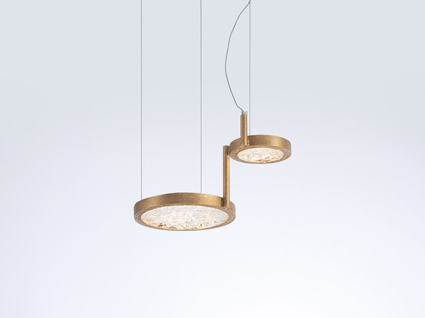 LED pendant lamp LUNA   Handmade pendant lamp by Serip