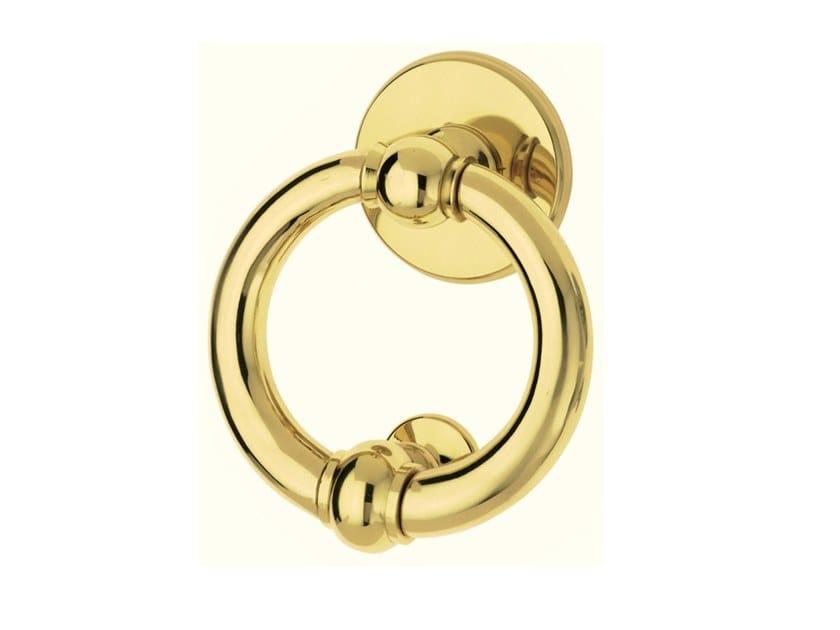 Brass door knocker LUNA | Door knocker by Pasini