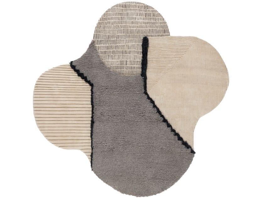 Handmade custom rug LUNAR ADDICTION by cc-tapis