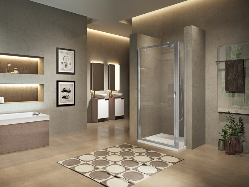 Profile for niche rectangular shower cabin LUNES 2.0 F SPECIAL 1/2/3/4/5 by NOVELLINI