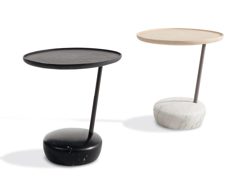 Tavolino rotondo in frassino LUPINO by Bonaldo