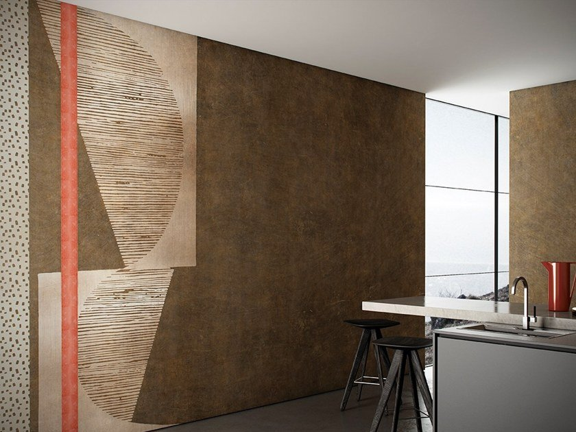 Geometric wallpaper LUREX by GLAMORA