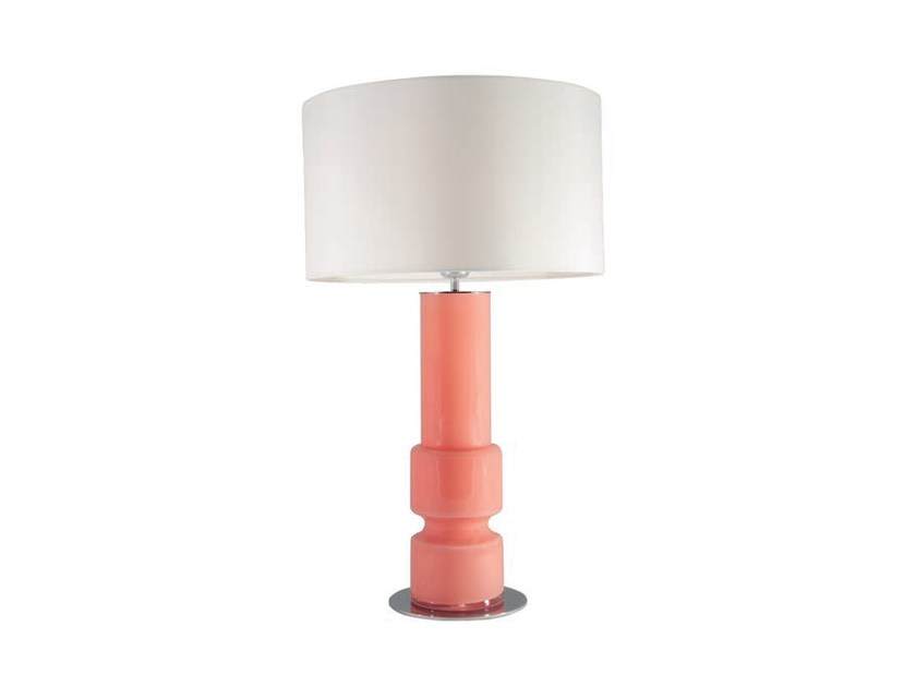 Stained glass table lamp with fixed arm LUSA   Glass table lamp by Aromas del Campo