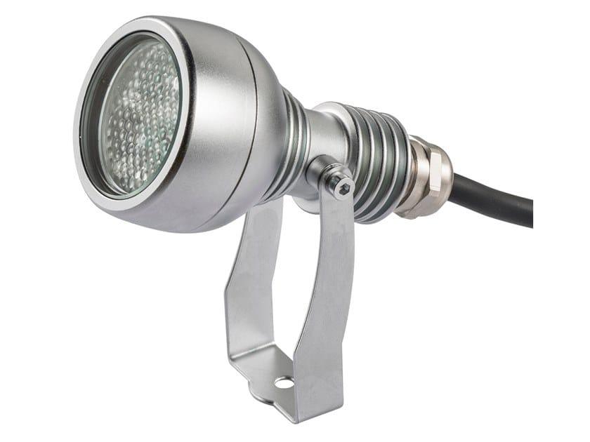 Proiettore per esterno a LED in ottone LUX 25 by NEMO