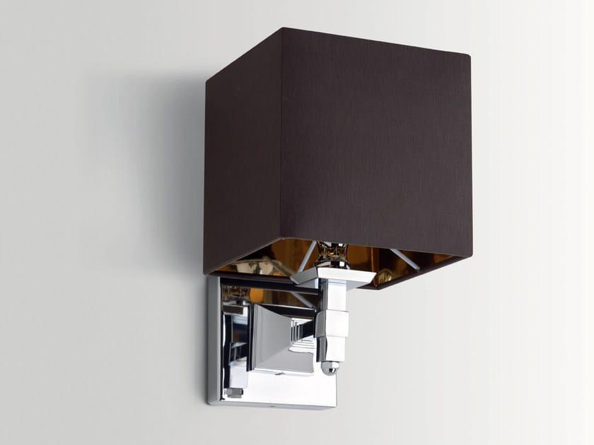 Fabric bathroom wall lamp LUX by BATH&BATH