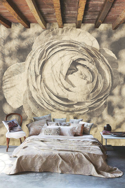Wallpaper with floral pattern LUX by Creativespace