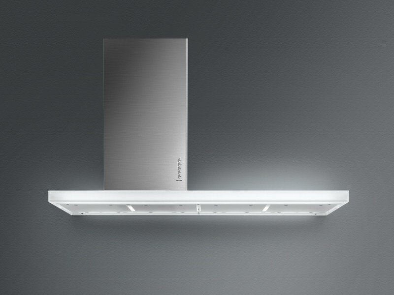 Wall-mounted stainless steel cooker hood LUX by Falmec