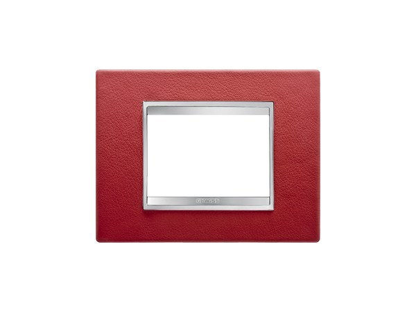 Leather wall plate LUX | Leather wall plate by GEWISS