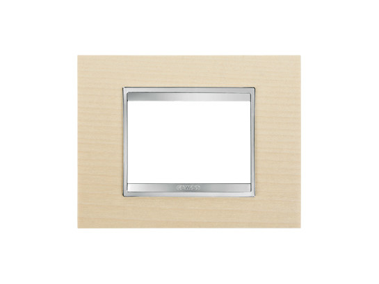 Maple wall plate LUX   Maple wall plate by GEWISS