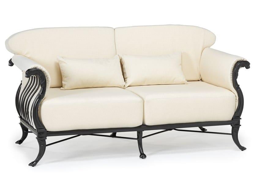 2 seater aluminium garden sofa LUXOR | 2 seater garden sofa by Oxley's Furniture